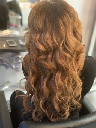 ITS MY HAIR salon haarmodel achter